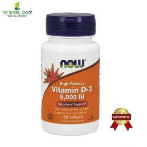 Vitamin D3 5000iu 120softgels